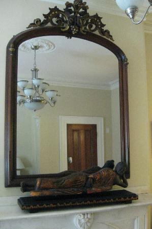 The Gilded Lily: Lovely mirror in Parlor Room