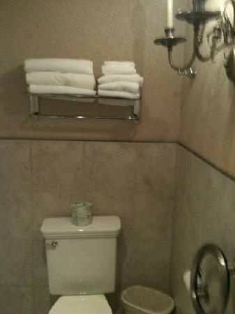 Plaza Motor Motel: bathroom with plenty of towels
