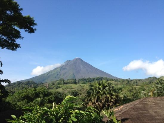 Arenal Paraiso Hotel Resort & Spa: view from bungalow