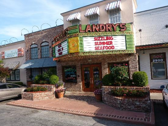 Landry S Seafood House The Entrance
