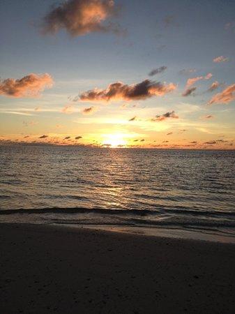 Desroches Island : beautiful sunset