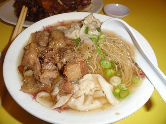 Hon's Wun Tun House : Beef Tendon Won Ton Noodle Soup