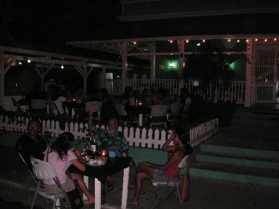 Carlos' Steak House: Carlos outdoor dining