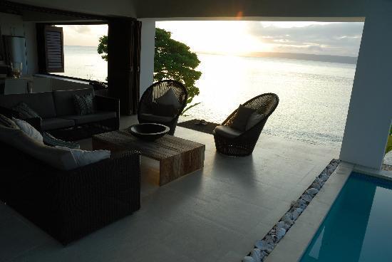 Villa 25 pavillion - sunset