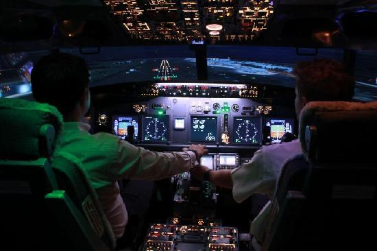 Flight Experience Flight Simulator: Amazing night time visual - coming into land at Kai Tak
