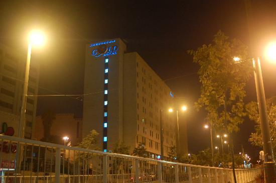 Jerusalem Gold Hotel : Gold at Night