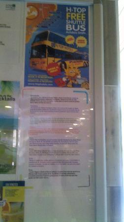 H.TOP Royal Sun: HTOP Bus Flyer NOT RUNNING