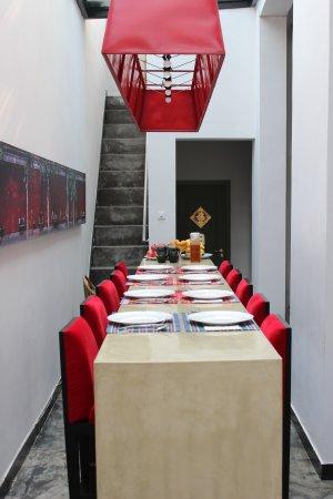 Hotel Cote Cour Beijing: the breakfast room