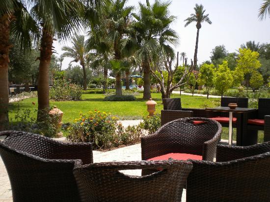 IBEROSTAR Club Palmeraie Marrakech: view fro the bar