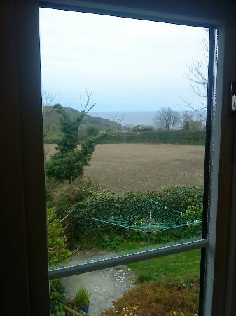 YHA Boswinger : View from one of the windows in our room