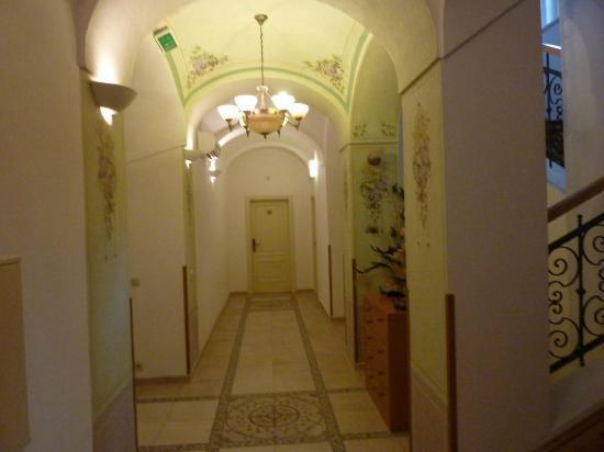 Castle Residence Praha: Hotel Reception area