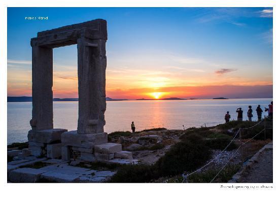 Agios Prokopios, Hellas: sunset