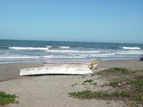 La Rosa de Las Barras: Beach Right in Front of La Rosa
