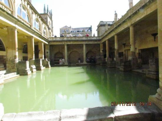 The Hollies: The Roman Baths....so worth seeing!