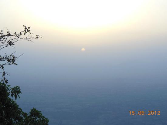 Sunset Point Mount Abu : Sun Set View