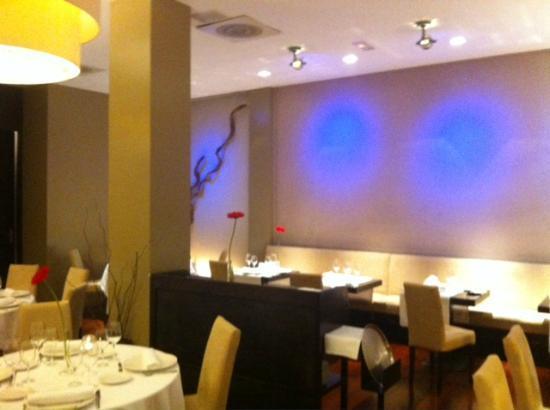 Restaurante Gom: la sala