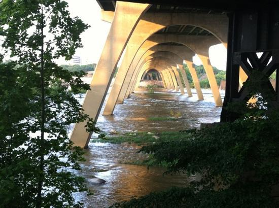 Richmond, VA: James River under the bridge
