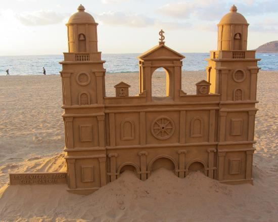 Restaurante Baluarte: Fantasy Sandcastle architecture