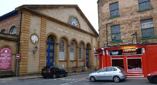 The Eastern Paradise is next to Scarborough`s Historic Market Hall