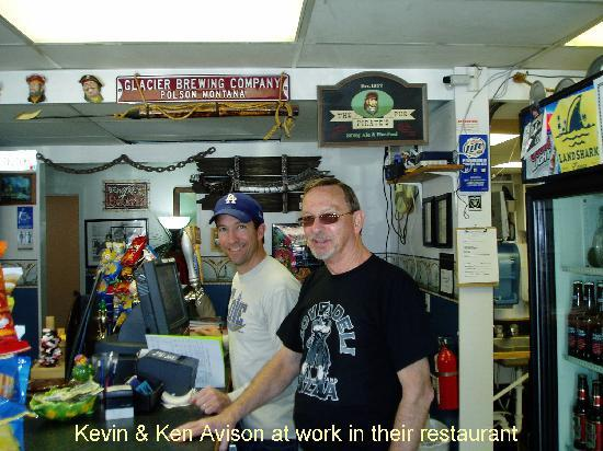 The Cove Deli & Pizza: Kevin and Ken