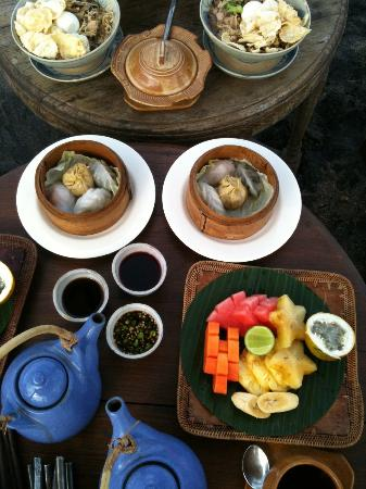 Hotel Tugu Bali : Petit-déjeuner