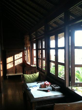 Hotel Tugu Bali : Terrasse de la chambre