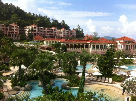 Centara Grand Beach Resort Phuket: view from our room 832