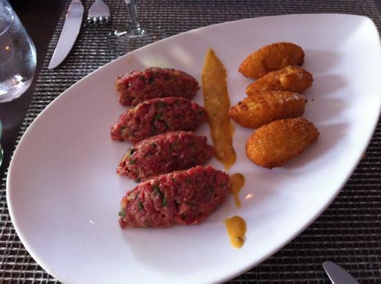 Ici Bistro : beef tartar