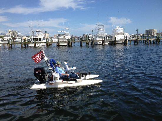 A1 Charters: Capt Bill is taking it for a spin