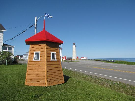 Motel du Haut Phare: Le Plus haut phare du Canada