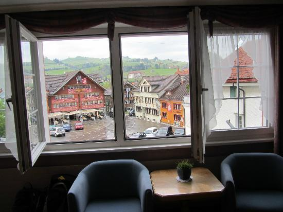 Hotel Appenzell: Another view from our room