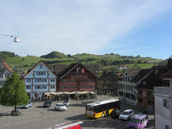Hotel Appenzell: View from our room