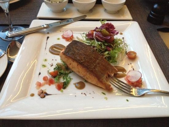 Porto Bello : My salmon was really good...