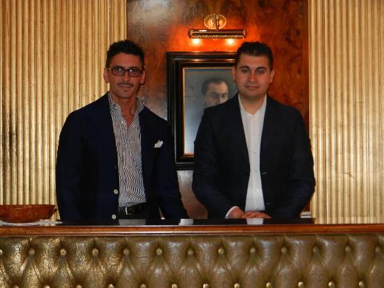 Al Ponte Antico Hotel: Bruno and Oliver