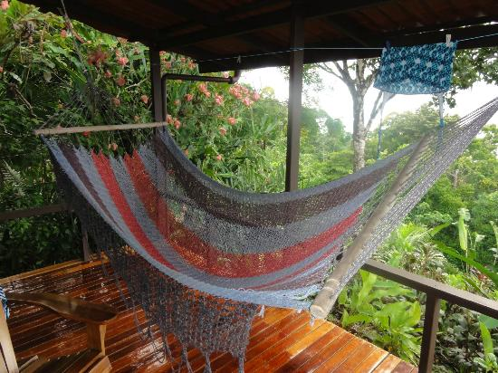 La Paloma Lodge: On our private terrace