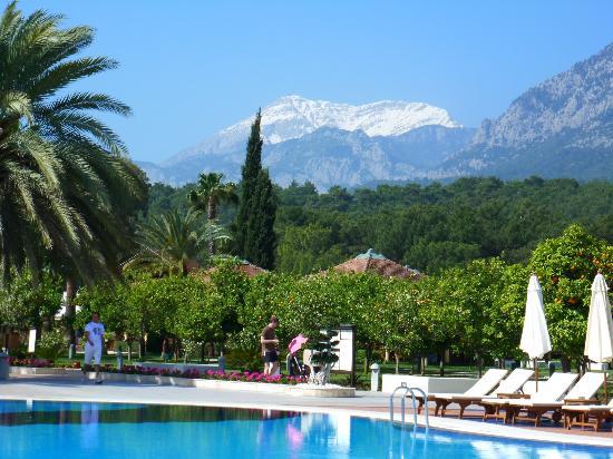 Club Med Palmiye: Aux pieds du Mont Tahtali