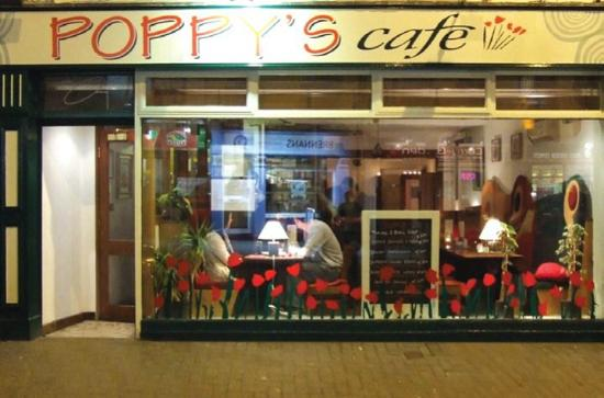 Poppys: Outside of Poppy's