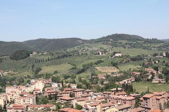 Rocca of Montestaffoli: Panorama