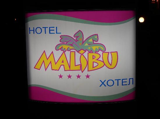 Hotel Malibu: entrée de l'hôtel