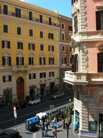 Pensione Ottaviano: View from the room window