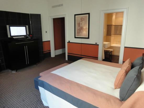 Hotel de Rome : chambre