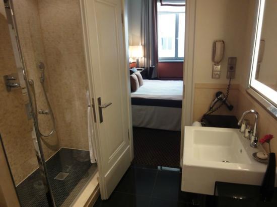 Hotel de Rome : salle de bain