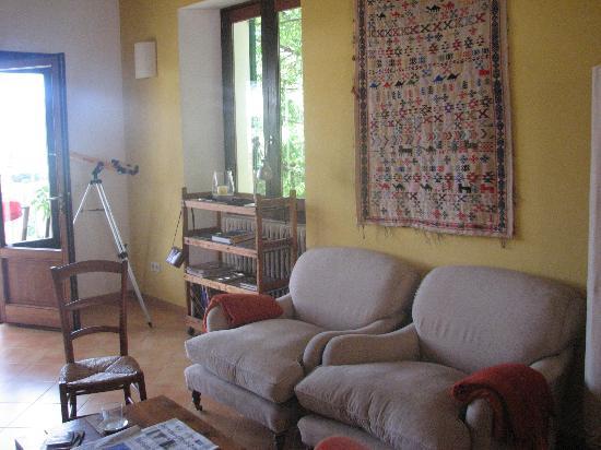 Es Petit Hotel de Valldemossa: Sitting area