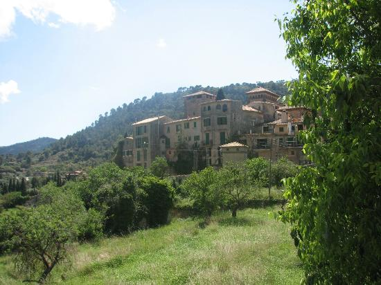 Es Petit Hotel de Valldemossa: View of the village from the patio