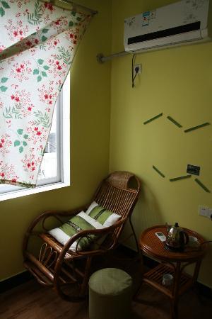 Yangshuo En Attendant Godot's Hostel: Double room