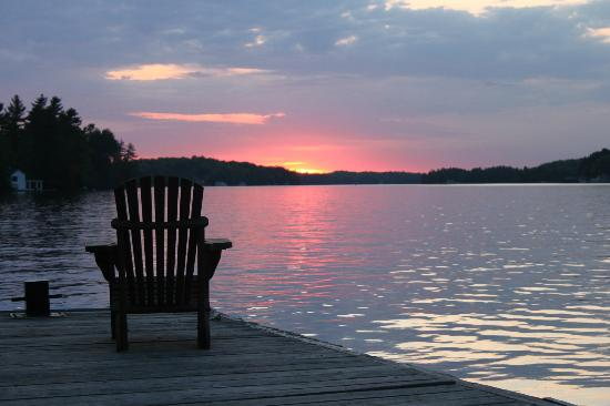 Sherwood Inn: A Muskoka Sunset