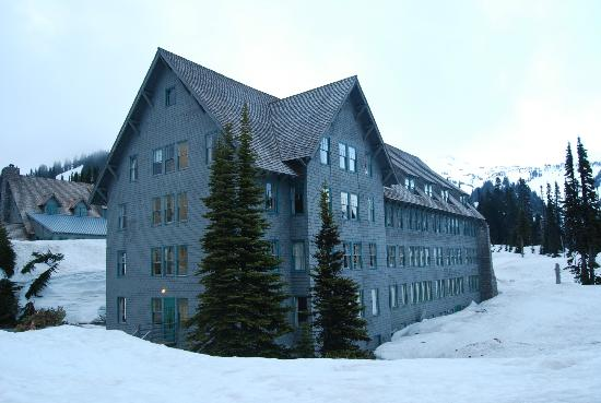 Exterior Del Hotel Picture Of Paradise Inn At Mount Rainier