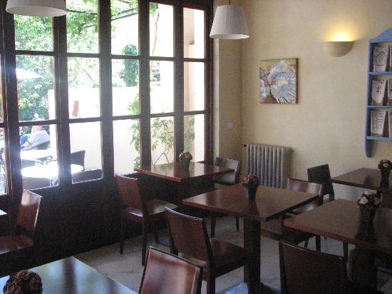 Hotel des Puig: Dining area
