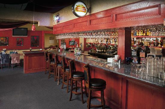 Mr. Tandoori Urban Bar and Grill: The bar area at Mr Tandoori