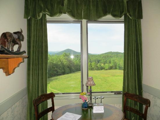 William Cox Inn: view from White Oak room